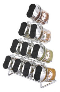 Pyramid Design Spice Rack | Buy Online at The Asian Cookshop.